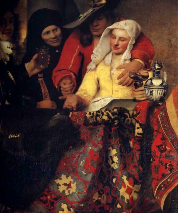 A Alcoviteira  - Vermeer, Jan e suas principais pinturas