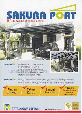 Canopy Carport SAKURA PORT