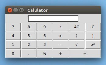 How to make a gui Calculator in Python using Tkinter