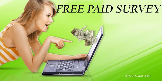 FREE PAID ONLINE SURVEYS TO MAKE MONEY ONLINE with Zero investment