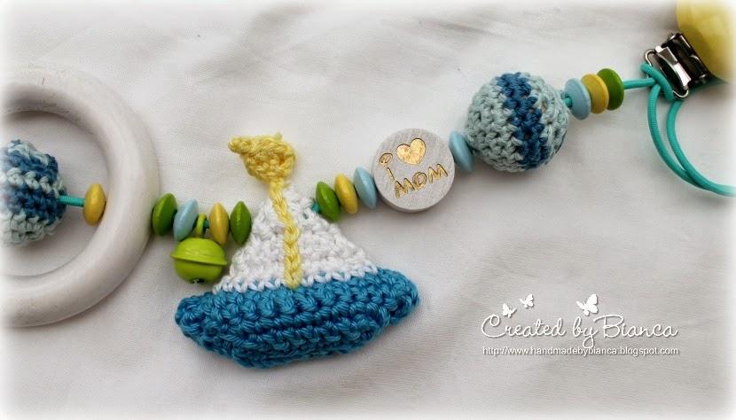 Handmade By Bianca Kinderwagenkette Selbst Gehäkelt Und