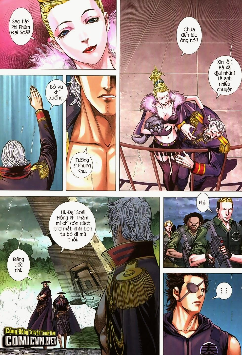 Đại Quân Phiệt chap 21 trang 9