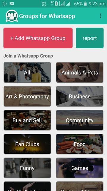 Whtasapp Group Join Categari