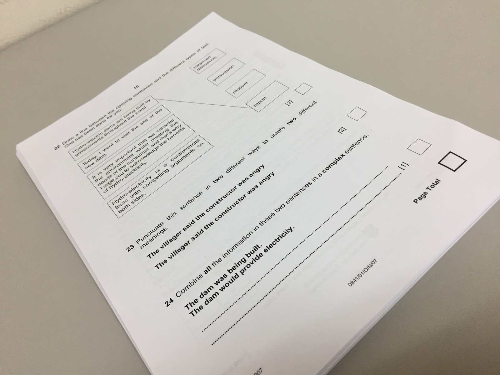IGCSE Cambridge Year 6 Primary Checkpoint (KS 2) - mr sai mun