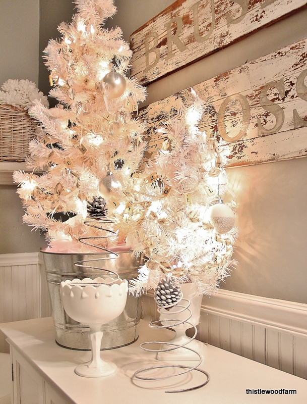 Decor Bazaar A Christmas Decoration To Make In Your Bathroom To