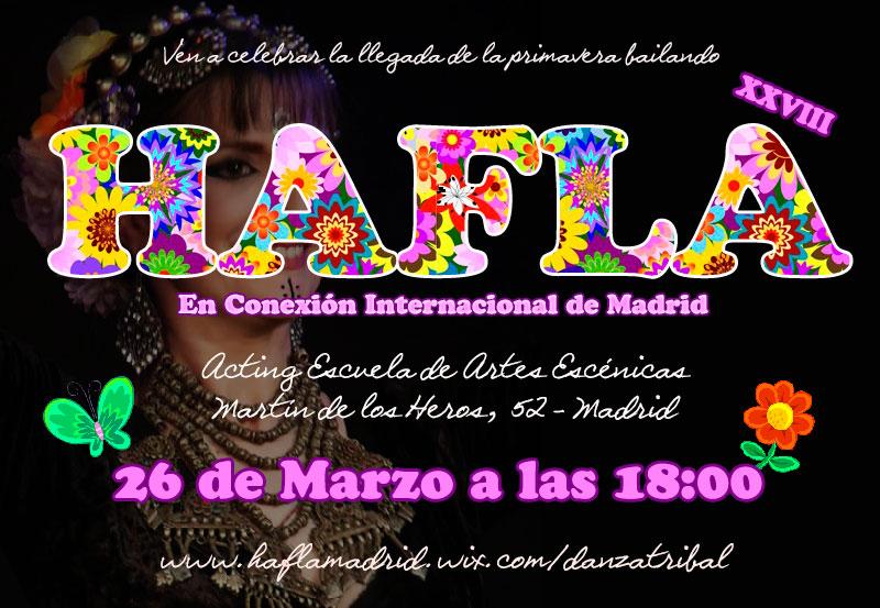 XXVIII Hafla en Conexión Internacional de Madrid Haflaprima2016