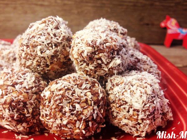 Chokladbollar (Шоколадови топчета)