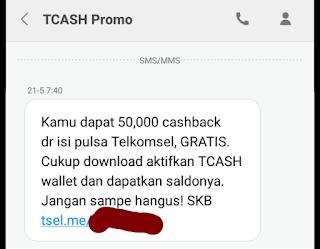 Cara mendapatkan & menggunakan bonus saldo tcash telkomsel secara gratis