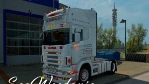 Scania 4 A H Boekema Skin