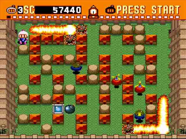 Super Bomberman 1 Snes