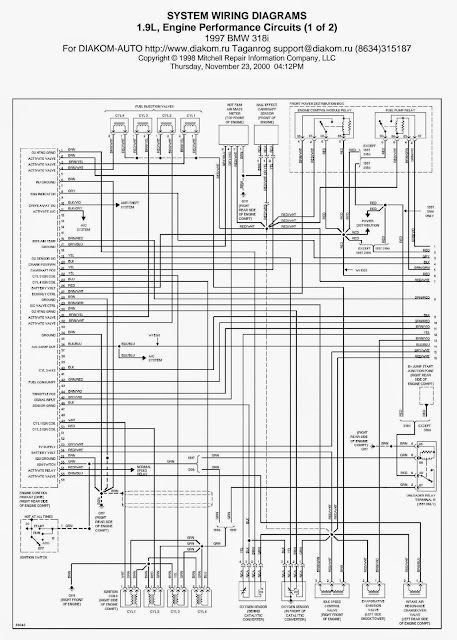 Wiring Diagrams and Free Manual Ebooks: 1997 BMW 318i 1.9L ...