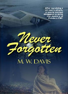 Never Forgotten by M.W.Davis (cover)