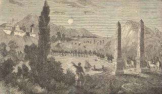 Mandroklesin yaptırdığı tablonun temsili tasviri
