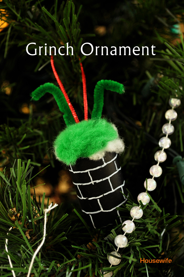 Grinch Christmas Ornament Housewife Eclectic