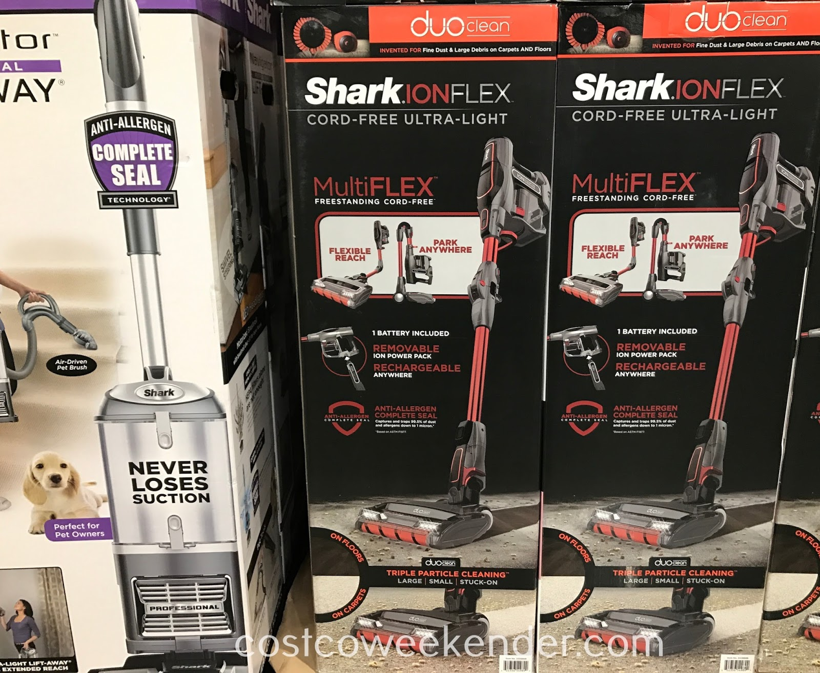 Easily clean your home with the Shark Ion Flex Cord-free Vacuum