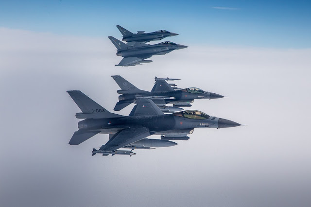 NATO RAMSTEIN ALLOY 4 AIR POLICING TRAINING