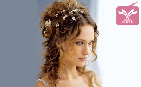 Peinados Para Novias Con Cabello Rizado Antes De La