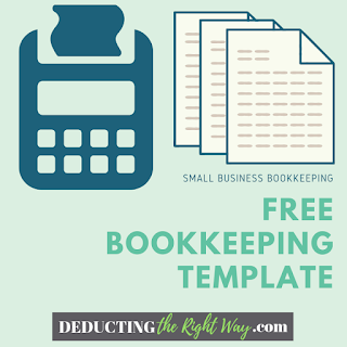 Small Business Spreadsheet for Income and Expenses | www.deductingtherightway.com