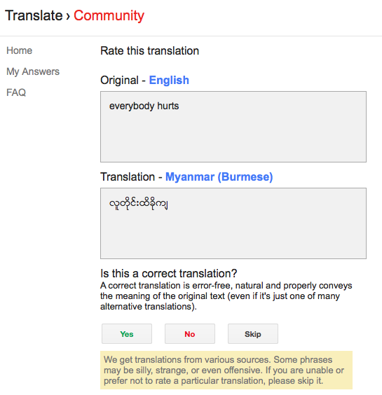 Purchase research paper about google translate