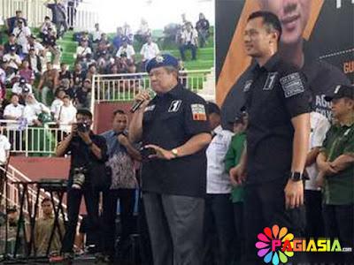 SBY Mengatakan Bahwa Dirinya Yakin Agus-Sylvi Dapat Mengubah DKI ke Arah Lebih Baik Pada Saat Mengikuti Kampanye