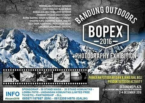 Bandung Outdoor & Photography Exhibition 2016