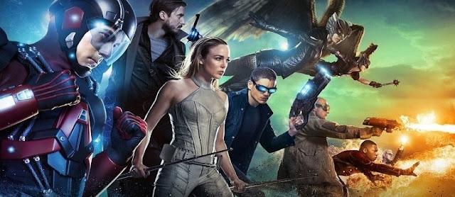superbohaterowie podróżujący w czasie serial