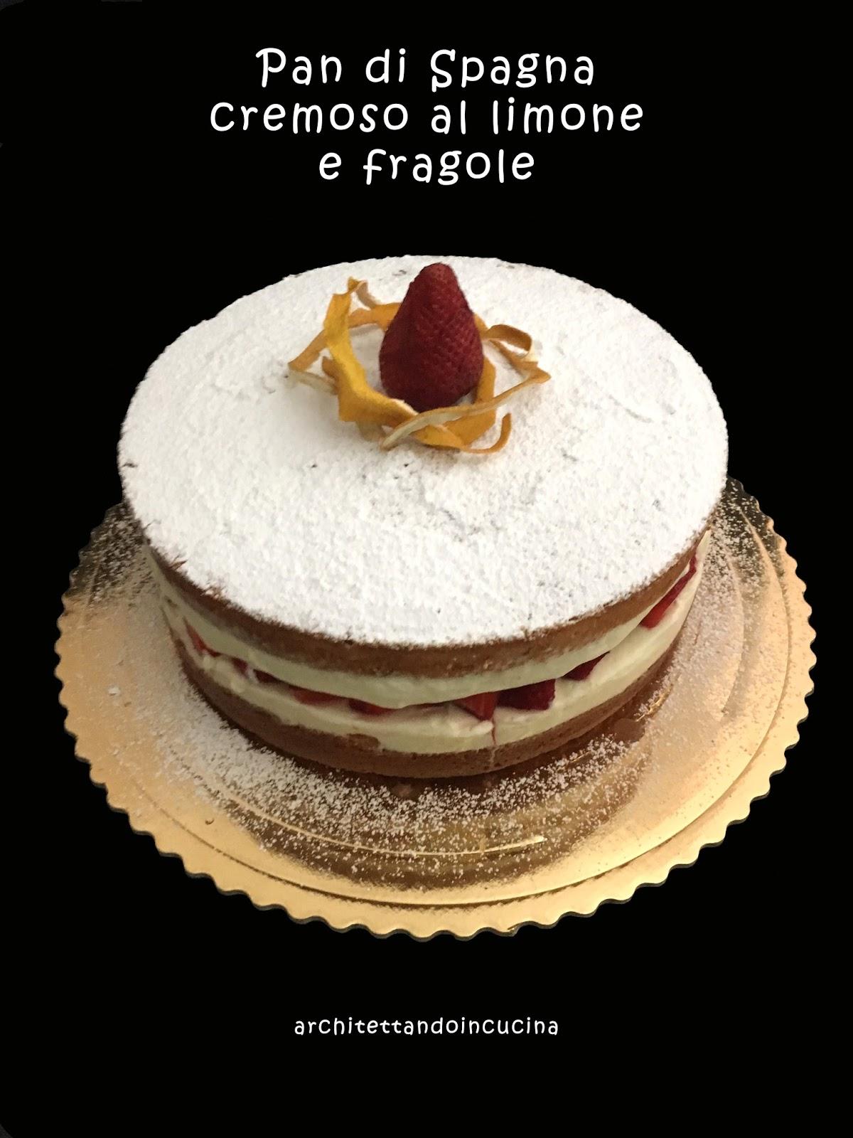 architettando in cucina: Pan di Spagna montato a freddo di Iginio ...