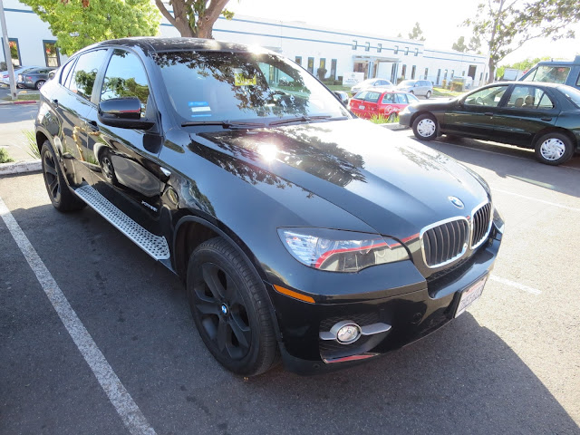 BMW X6 repaired & painted at Almost Everything Auto Body