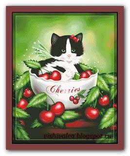 """HAED HAEDMED12357 """"Cherry Kitten"""""""