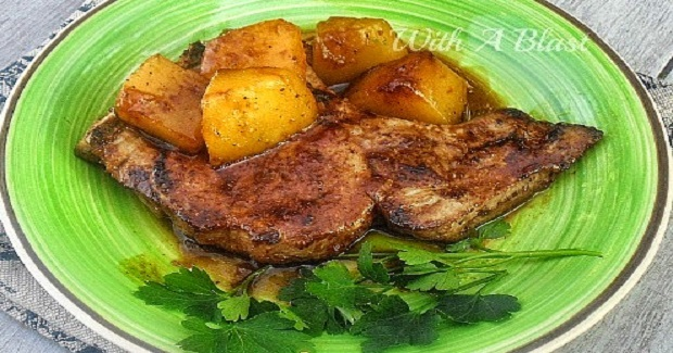 Crispy Mango Pork Chops Recipe