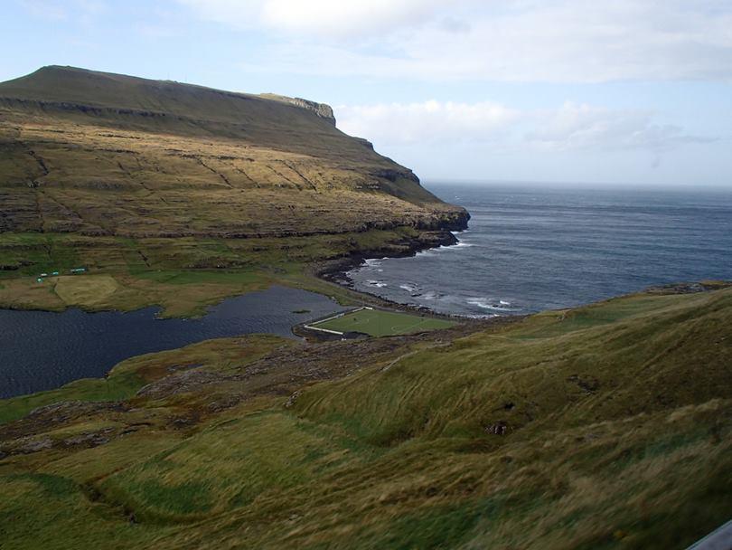 Eidi Stadium, Eidi Stadium Faroe Islands, Eidi football stadium Faroe islands, Faroe Islands Football Stadium,