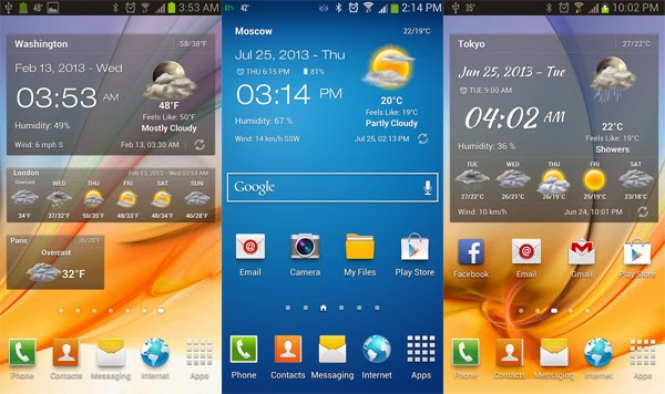 AndroidZip: Free Download Weather & Clock Widget Full v2 5 3 5 Apk