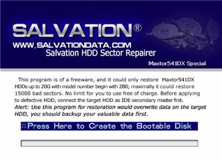 Salvation HDD Sector Repairs 2.0