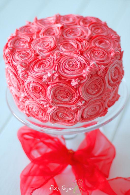 Kessy S Pink Sugar Red Velvet Cake