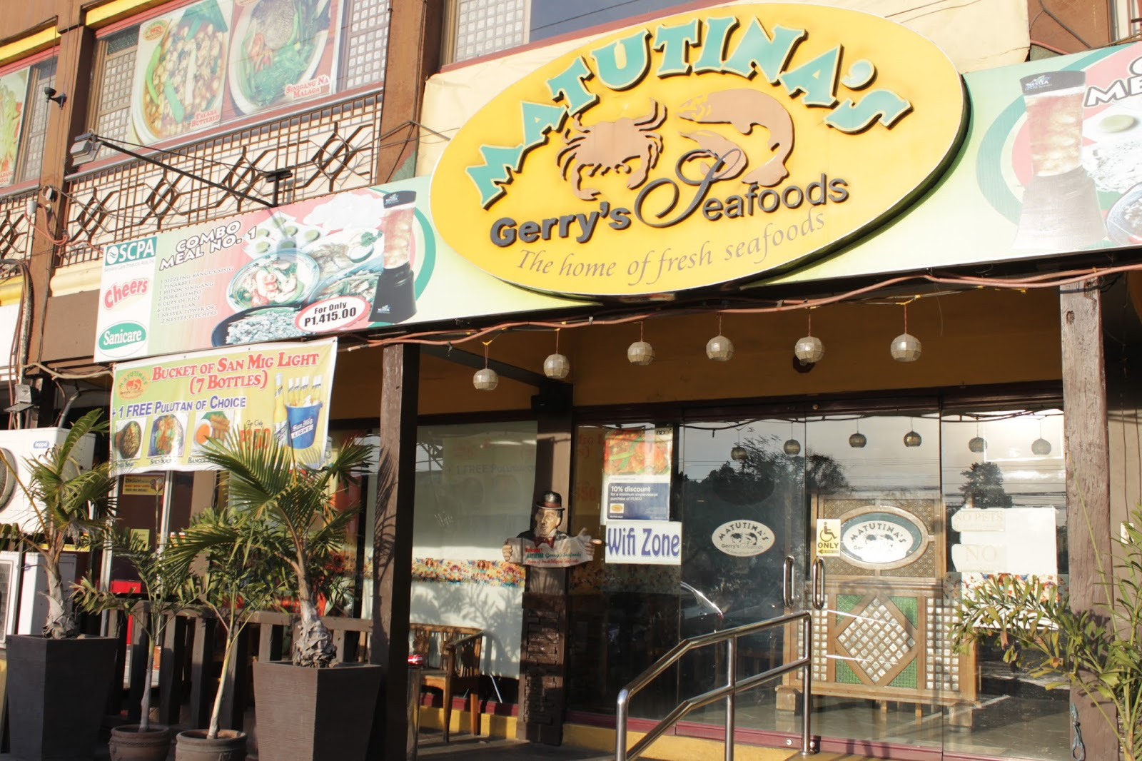 buffet of blessings: matutina's seafood restaurant in tarlac city
