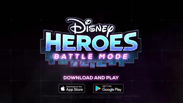 Game Disney Heroes: Battle Mode Telah Hadir Untuk Android dan iOS, Hadir Dengan Karakter Disney dan Pixar