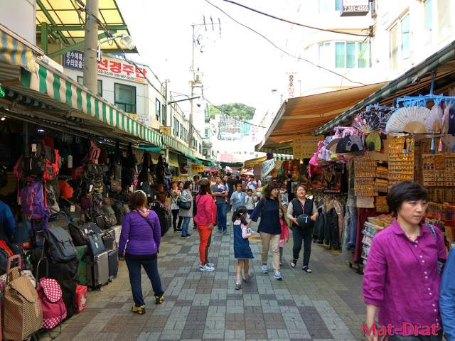 Tempat menarik di Busan Korea Gukje Market