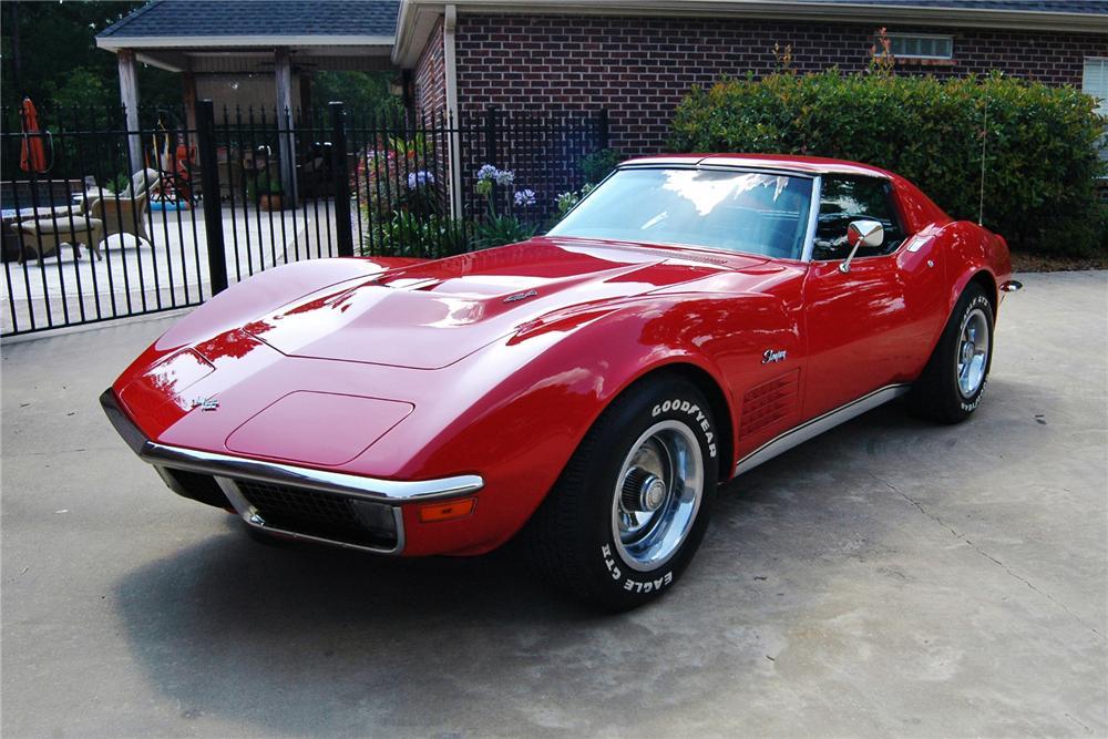 Vintage Corvette 76