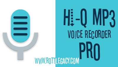 Hi-Q MP3 Voice Recorder (Pro) Apk for Android (paid)