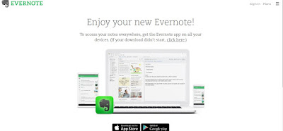 Evernote time management app