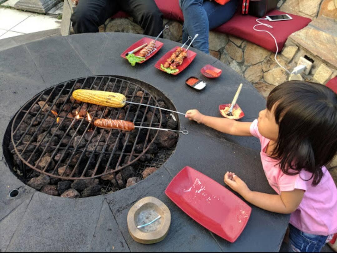 Campfire Outdoor Cuisine tempat nongkrong sambil main Api Unggun