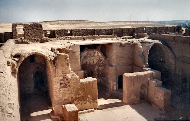 Asuán. Monasterio de Anba Hatre. Iglesia construida en el siglo XI.