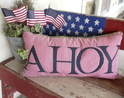 patriotic 4th of July decor