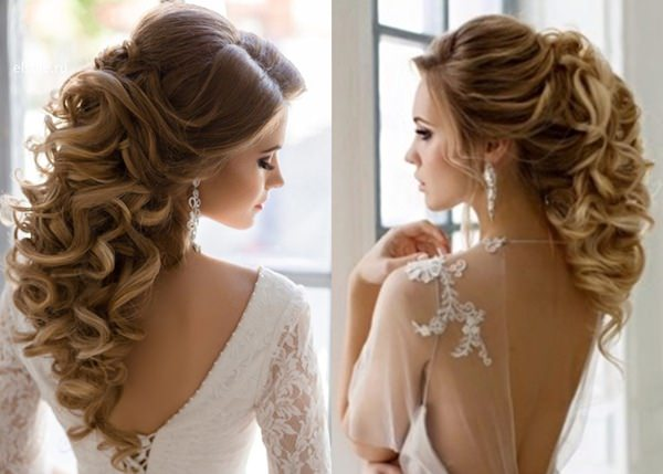 Wedding Hairstyle with Permanent Waves 4