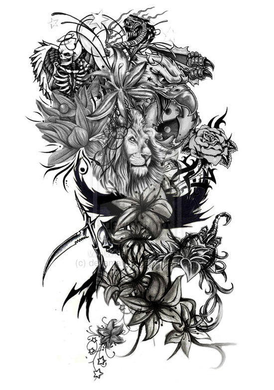 Tattoo Gallery Full Sleeve Tattoos Designs