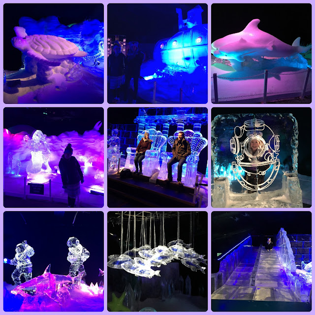 Magical Ice Kingdom at Winter Wonderland