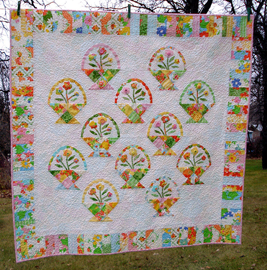 Spring Dreams Quilt Free Tutorial