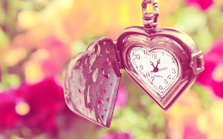 Heart shaped romantic watch for lover
