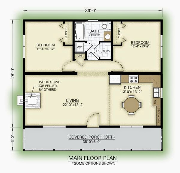 Sidekick Homes - One Tree, 484 sq ft Incredibly efficient layout