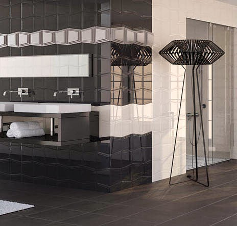 black and white bathroom ideas, designs, furniture